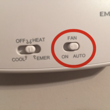 Thermostat to AUTO not ON