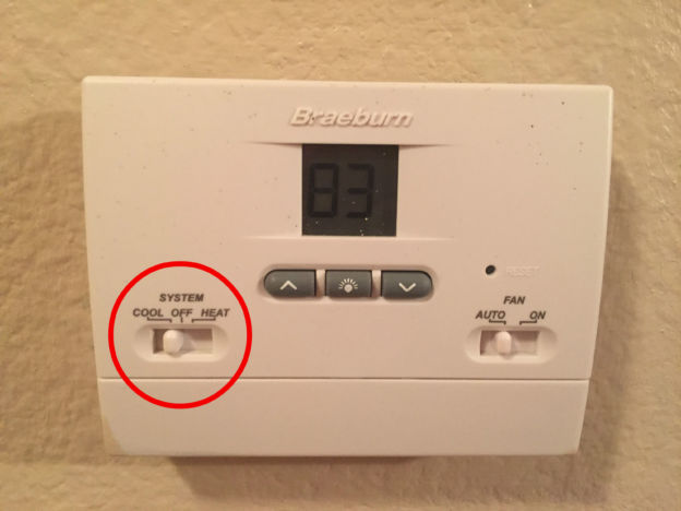 Cool Vs Heat Setting Thermostat