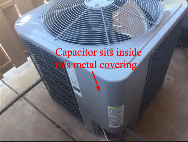 a bad ac capacitor